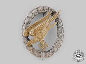 Germany, Luftwaffe. A Fallschirmjäger Badge by Gebrüder Wegerhoff