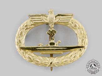 Germany, Kriegsmarine. A U-Boat War Badge