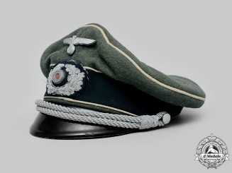 Germany, Heer. An Infantry Officer's Crusher Visor Cap