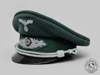 Germany, Reichsforstdienst. A Reich Forestry Service Officer's Visor Cap, by Erel