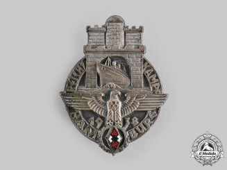 Germany, HJ. A 1938 Hamburg Combat Games Badge