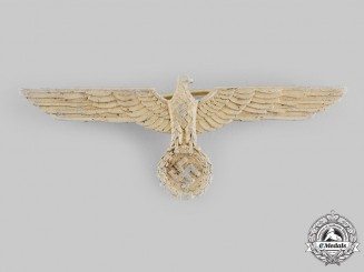 Germany, Kriegsmarine. An Officer's Summer Tunic Breast Eagle