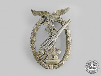 Germany, Luftwaffe. A Flak Badge by E. Ferdinand Wiedmann