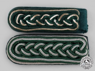 Germany, Wehrmacht. A Pair of Shoulder Boards