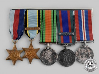Canada, RCAF. An Air Crew Europe Medal Bar