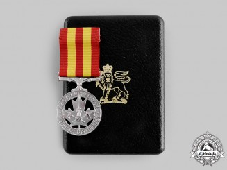 Canada, Commonwealth. A Fire Service Exemplary Service Medal