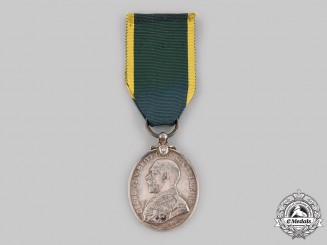 United Kingdom. A Territorial Efficiency Medal, Royal Army Medical Corps