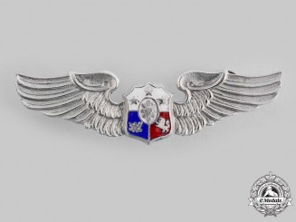 Philippines, Republic. An Air Force Pilot Badge, c.1960