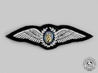 Uganda, Republic. An Air Force Pilot Badge