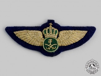 Saudi Arabia, Kingdom. A Royal Saudi Air Force Aircrew Badge