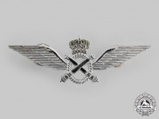 Belgium, Kingdom. An Army Pilot Badge for Non-Commissioned Officers