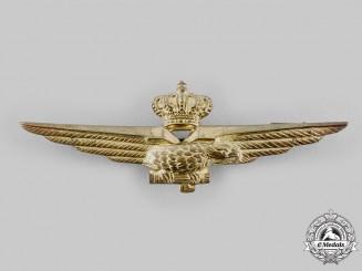 Italy, Kingdom. A Royal Italian Air Force Pilot Badge, c.1941