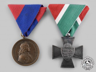 Hungary, Kingdom. Two Awards & Decorations