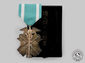 Japan, Empire. An Order of the Golden Kite, VI Class, c.1930
