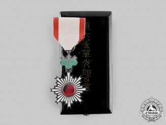 Japan, Empire. An Order of the Rising Sun, V Class, c.1940