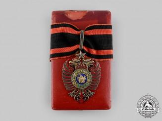 Albania, Kingdom. An Order of Skanderbeg, III Class Commander, c.1942