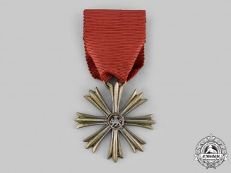 Iran, Empire. An Order of Arts and Science, IV Class Medal