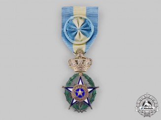 Belgium, Kingdom. An Order of the African Star, Officer ,by Fernand-Fisch, c.1945