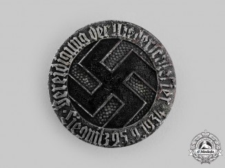 Germany, Third Reich. A Patriotic Badge of the City of Liegnitz, c. 1935