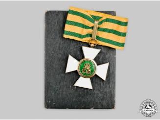 Luxembourg, Order of the Oak Crown, III Class Commander, Cased, c.1920