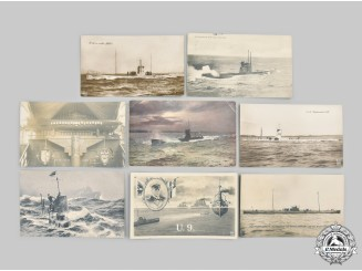 Germany, Imperial. A Lot of First World War U-Boat Service Postcards