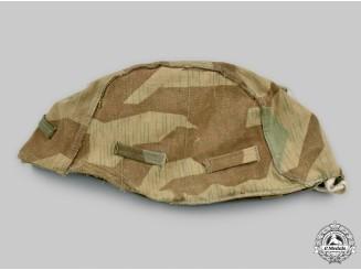 Germany, Heer. A Splinter Pattern Reversible Camouflage Helmet Cover