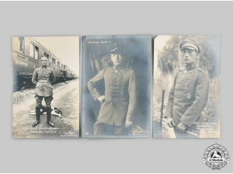 Germany, Imperial. A Lot of First World War Fighter Ace Postcards
