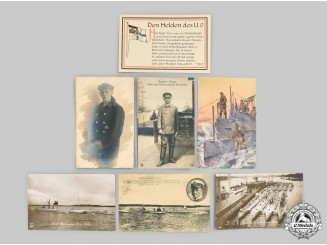 Germany, Imperial. A Lot of First World War U-Boat Service Photos and Postcards