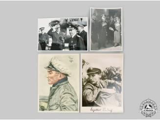 Germany, Kriegsmarine. A Lot of Kriegsmarine Photos and Postcards