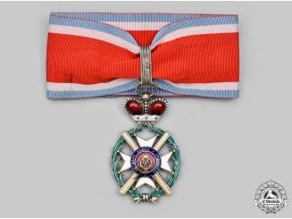 Serbia, Kingdom. An Order of the Cross of Takovo, III Class Commander, by G.A. Scheid, c.1910