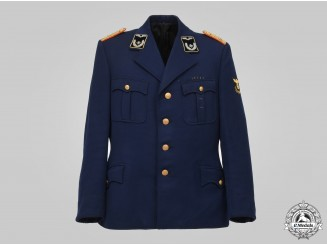 Germany, Reichsbahn. An Officer's Service Tunic, Brussels Directorate