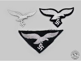 Germany, Luftwaffe. A Lot of Eagle Insignia