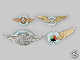 Argentina, Republic. A Lot of Four Argentine Air Force/Army Aviation Badges