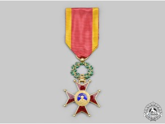 Vatican. An Order of St. Gregory the Great for Civil Merit in Gold, Knight, c.1925