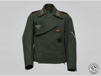 Germany, Heer. An Artillery/Assault Gun Crewman's Field Jacket
