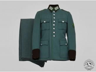 Germany, Schutzpolizei. A Hauptwachtmeister's Service Uniform