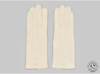 Germany, SS. A Rare Set of SS Evening Dress Uniform Gloves
