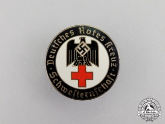 Germany. An Association of the Sisters of the (DRK) German Red Cross Membership Badge