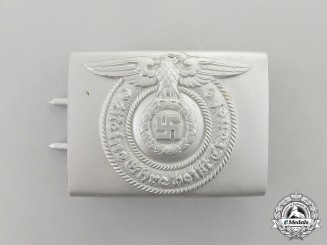 Germany. An SS EM/NCO's Standard Issue Belt Buckle by Overoff & Cie