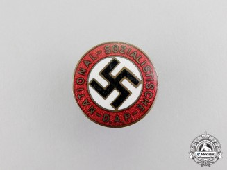 Germany. A NSDAP Party Member's Lapel Badge