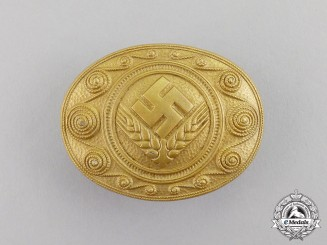 Germany. A RADwJ Personnel's Commemorative Service Brooch by Hermann Aurich