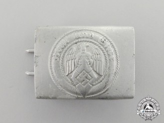 Germany. An HJ Member's Standard Issue Belt Buckle by Richard Sieper & Söhne
