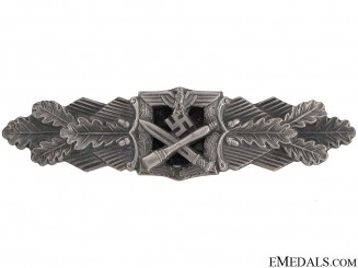 Close Combat Clasp-Silver Grade - RS