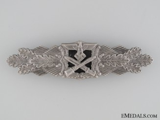 Close Combat Clasp; Silver Grade by JFS