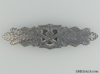 Close Combat Clasp; Silver Grade by FLL