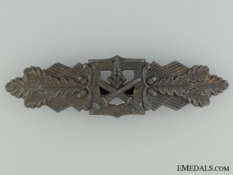 Close Combat Clasp; Bronze Grade by F & B L