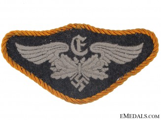 Cloth Badge of the Rangefinder-Flak Artillery