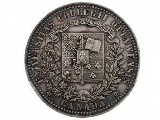 (University of Ottawa) Academic Achievement Medal, 1893