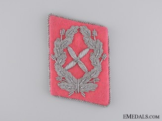 Collar Tab of Luftwaffe Chief Staff Engineer