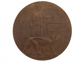 Vimy Ridge Casualty Memorial Plaque